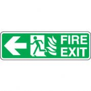 Safe Safety Sign - Fire Door Left 089